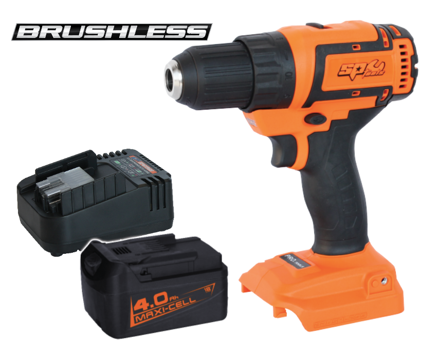 18v 13mm Drill/Driver Brushless